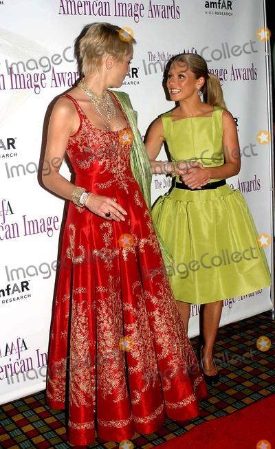 Sharon Stone Photo - the 2004 American Image Awards Grand Hyatt Hotel New York City 05032004 Photo Barry Talesnick  Ipol  Globe Photos Inc 2004 Sharon Stone and Kelly Ripa