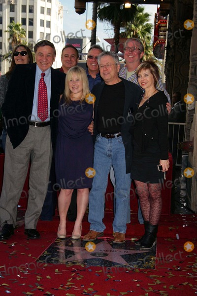 Alan Menken Photo - Composer Alan Menken Honored with Star on the Hollywood Walk of Fame El Capitan Theatre Hollywood CA 11102010 Richard Sherman Posing with Alan Menken and Family Photo Clinton H Wallace-photomundo-Globe Photos Inc 2010
