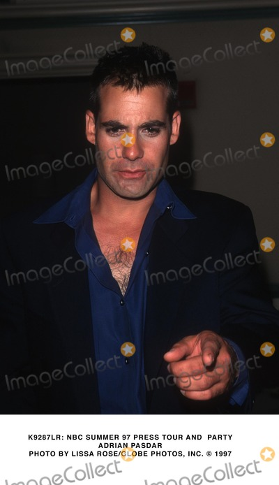 Adrian Pasdar Photo -  NBC Summer 97 Press Tour and Party Adrian Pasdar Photo by Lissa RoseGlobe Photos Inc