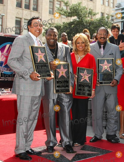 Claudette Robinson Photo - Smokey Robinson Pete Moore Claudette Robinson Bobby Rogers the Miracles the Miracles Honored with Star on the Hollywood Walk of Fame 7060 Hollywood Boulevard Hollywood California 03-20-2009 Photo by Graham Whitby Boot-allstar-Globe Photos Inc
