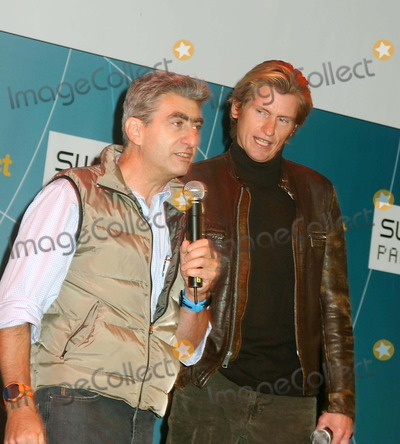 Nick Hayek Jr Photo - Swatch Watch Launches Its New Paparazzi Watch at the Supper Club in New York City 10202004 Photo Bymitchell LevyrangefindersGlobe Photos Inc 2004 (Swatch Group Ceo) Nick Hayek Jr and Denis Leary