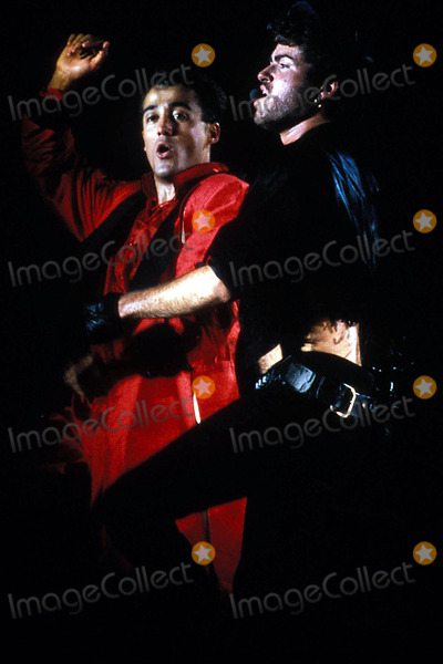 Andrew Ridgeley Photo - Photo Pt-Globe Photos Inc Wham George Michael and Andrew Ridgeley Wham