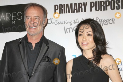 Rika Broccoli Photo - a Trilogy of Recovery the Premiere of Three Short Films From Primary Purpose Productions to Benefit the Midnight Mission Writers Guild Theater Beverly Hills CA 09282012 Tony Broccoli and Rika Broccoli Photo Clinton H Wallace-photomundo-Globe Photos Inc