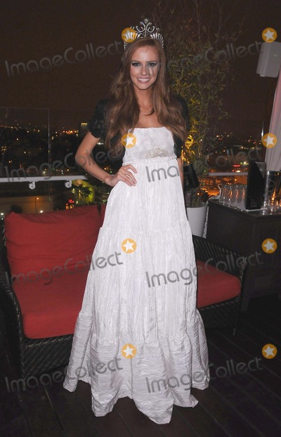 Alyssa Campanella Photo - Miss USA Official Homecoming Party at Drais Hollywood in Hollywood CA 92811 Photo by Scott Kirkland-Globe Photos   2011 Miss USA 2011 Alyssa Campanella