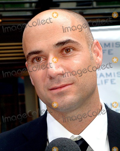 Aramis Photo - Sd07162003 Tennis Superstar Andre Agassi Launches New Mens Fragrance- Aramis Life at Christies  NYC Photomitchell Levy  Rangefinder  Globe Photosinc