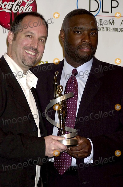 Antwone Fisher Photo - Sd0306 Showest 2003 Awards Paris Hotel Las Vegas NV Photojohn Krondes  Globe Photos Inc 2003 Todd Black and Antwone Fisher