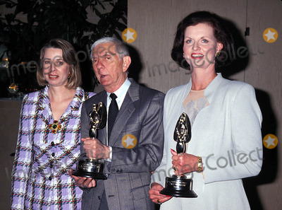 Aaron Spelling Photo - Diane English Aaron Spelling Nancy Widmann 1995 Photo by Lisa Rose-Globe Photos