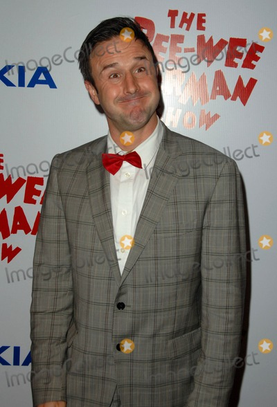 Pee-wee Herman Photo - David Arquette attends Opening Night Red Carpet of the pee-wee Herman Show Held at the Nokia Theatre in Los Angeles CA 01-20-10 Photo by D Long- Globe Photos Inc 2009