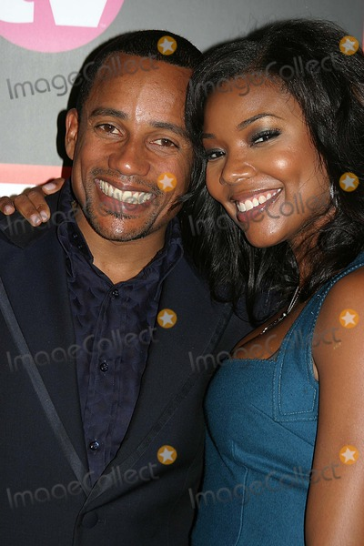 Gabrielle Union Photo - Tv Guide  Inside Tv After Party-red Carpet Hollywood Roosevelt Hotel Hollywood CA 09-18-2005 Photo Clintonhwallace-photomundo-Globe Photos Inc Hill Harper and Gabrielle Union