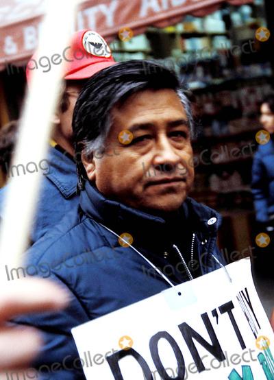 Alan Smith Photo - Cesar Chavez Photo Byrichard Alan SmithGlobe Photos