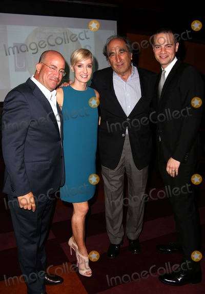 Andrew Lack Photo - Unicef and Hsn Host Event to Celebrate the Launch of the Cookbook Unichef Assembled by Hilary Gumbel the Lambs Club NYC September 15 2014 Photos by Sonia Moskowitz Globe Photos Inc 2014 Jeff Zucker Hilary Gumbel Andrew Lack Jordan Roth