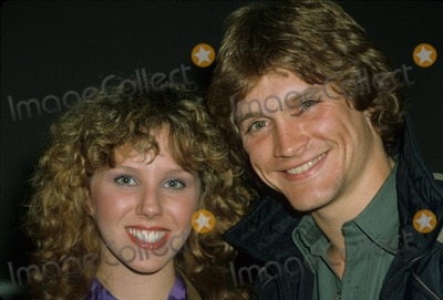 Andrew Stevens Photo - Andrew Stevens with Claudia Lonow 1981 E1958 Photo by Bob V Noble-Globe Photos Inc