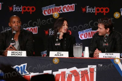 Ali Adler Photo - Mehcad Brooksali Adlerpeter Facinelli attends the Dcs Super Girl Panel at Day 4 of NY Comic Con at Javits Center 10-11-2015 John BarrettGlobe Photos