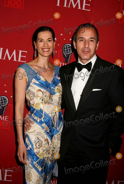 Annette Lauer Photo - Time Magazine 100 Most Influential People in the World Jazz at Lincoln Center NYC May 8 2007 Photos by Sonia Moskowitz Globe Photos Inc 2007 Matt Lauer and Wife Annette Lauer