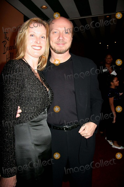 Deborah Rennard Photo - the 13th Annual Diversity Awards Presented by the Multicultural Motion Picture Association Beverly Hills Hotel Beverly Hills MA 11-13-2005 Photo Clintonhwallace-photomundo-Globe Photos Inc Deborah Rennard and Paul Haggis