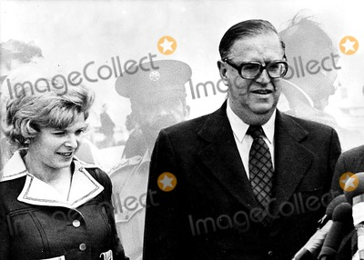 ABBA Photo - Abba Eban  Israeli Minister of Foreign Affairs and His Wife Suzi Supplied by Globe Photos Inc Obit