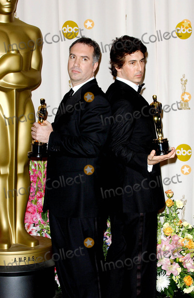 Alexander Payne Photo - 77th Annual Academy Awards (Press Room) at the Kodak Theatre CA 2-27-2005 Photo Byfitzroy Barrett-Globe Photos Inc 2005 Jim Taylor and Alexander Payne