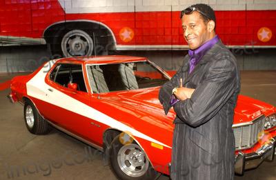 Antonio Fargas Photo - Antonio Fargas Former Starsky  Hutch Star Antonio Fargas Unveils Cardboard Box Sculpture of the Cop Shows Ford Gran Torino to Promote Starsky  Hutch Video Game Spitalfields Markelondon 06202003 Photo by Tim MatthewsGlobe Photos Inc 2003