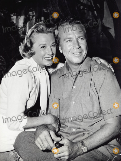 June Allyson Photo - June Allyson with Dick Powell Supplied by Ipol-Globe Photos Inc