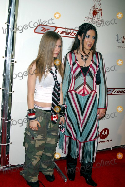 Avril Lavigne Photo -  82902 P Diddy and Guy Oseary Host the Greastest Party of All Time an After Party For the Mtv Awards Presented by Rbk at Cipriani in New York City Avril Lavigne_michelle Branch Photo by John BarrettGlobe Photos Inc 2002 Music Video