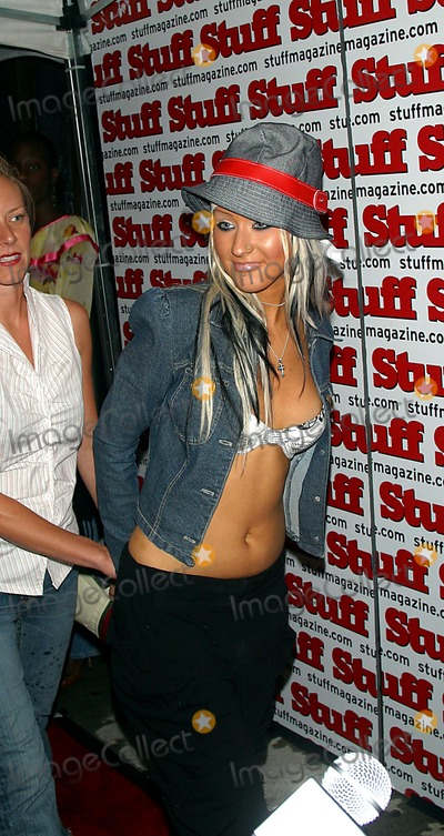 Chrisitina Aguilera Photo - Sd0828 Stuff Magazine Heats Up New York with a 2002 Mtv Vma Pre-party at Lot 61 in New York City Photo Byjohn BarrettGlobe Photos Inc 2002 Chrisitina Aguilera