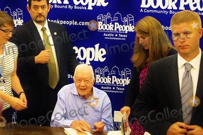 Jimmy Carter Photo - Former Us President Jimmy Carter Signs Copies of His New Booka Full Lifereflections at Ninety at Bookpeople in Austintx on 08012015over 1000 People Lined Up in the August Heat to Purchase a Signed Copy