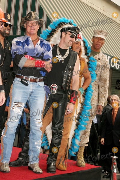 Alexander Briley Photo - the Village People Honored with a Star on the Hollywood Walk of Fame Hollywood Blvd Hollywood CA 091208 Jeff Olson and Eric Anzalone Felipe Rose and Alexander Briley of the Village People Photo Clinton H Wallace-photomundo-Globe Photos Inc
