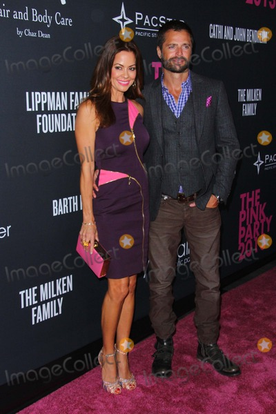 Gillian Jacobs Photo - Brooke Burke-charvet David Charvet Attend Elyse Walker Presents the Pink Party 2013 Hosted by Anne Hathaway Held at Hangar 8 Santa Monica Airport October 19 2013 Santa Monicacaliforniausa Photo TleopoldGlobephotos