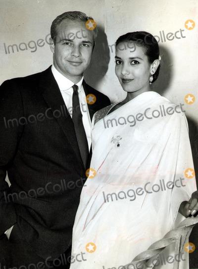 Anna Kashfi Photo - Marlon Brando and Anna Kashfi SmpGlobe Photos Inc