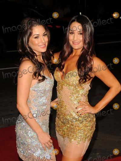 Nikki Bella Photo - Brie Bella Nikki Bella attending the Los Angeles Premiere of This Means War Held at the Graumans Chinese Theatre in Hollywood California on 2812 Photo by D Long- Globe Photos Inc