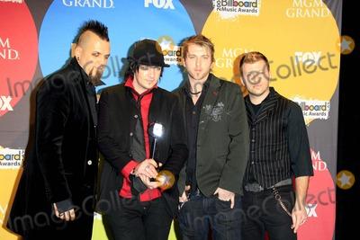 Three Days Grace Photo - Three Days Grace - 2006 Billboard Music Awards - Press Room - Mgm Grand Las Vegas Nevada 12-04-2006 - Photo by Nina PrommerGlobe Photos Inc 2006