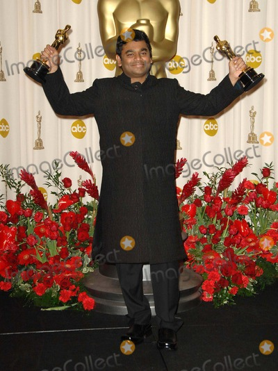 AR Rahman Photo - The 81st Annual Academy Awards Press Room Held at the Kodak Theatre in Hollywood California on February 22 2009 Photo David Longendyke-Globe Photos Inc 2009 Image AR Rahman