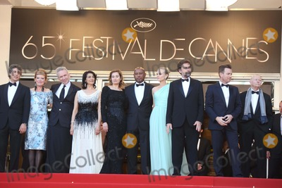 Alexander Payne Photo - Jury Members Director Alexander Payne (l-r) Director Andrea Arnold  Fashion Designer Jean-paul Gautie Actress Hiam Abbass Actress Emmanuelle Devos Director Raoul Peck Actress Diane Kruger President of the Jury Director Nanni Moretti Actor Ewan Mcgregor and President of the Cannes Film Festival Gilles Jacob Arrive at the Opening of the 65th Cannes Film Festival at Palais Des Festivals in Cannes France on 16 May 2012 Photo Alec Michael Photo by Alec Michael-Globe Photos Inc