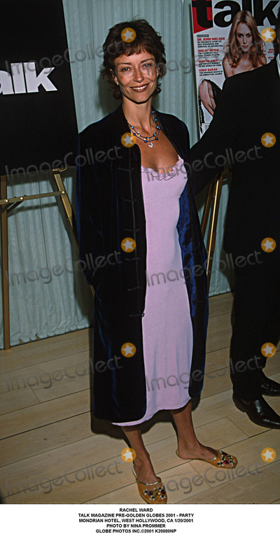 Rachel Ward Photo - Rachel Ward Talk Magazine Pre-golden Globes 2001 - Party Mondrian Hotel West Hollywood CA 1202001 Photo by Nina Prommer Globe Photos Inc2001
