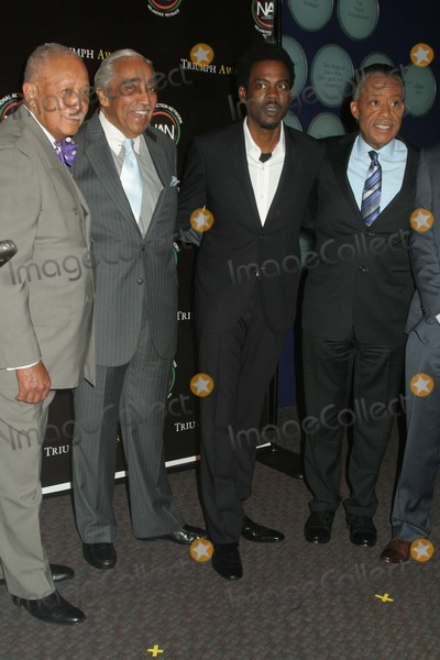 Charlie Rangel Photo - AL Sharpton Chris Rock Congressman Charlie Rangel and Left Former Mayor David Dinkins the 2nd Annual Triumph Awards Rose Theater at Lincoln Center in New York City 10-19-2011 Photo by Mitch Levy-Globe Photos Inc