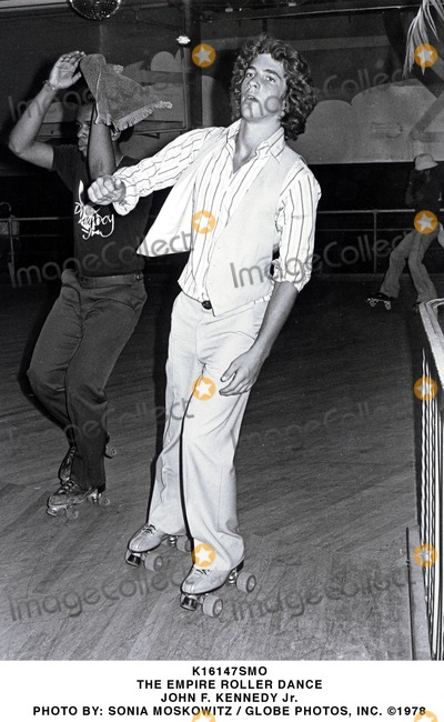 JFK Jr Photo - the Empire Roller Dance John F Kennedy Jr Photo by Sonia Moskowitz  Globe Photos Inc