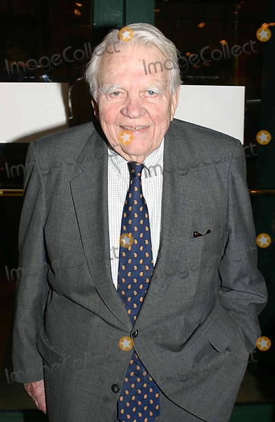 Andy Rooney Photo - Cocktail Reception at Doyle Gallery New York City 03-13-2006 Photo William Regan-Globe Photos Inc 2006 Andy Rooney