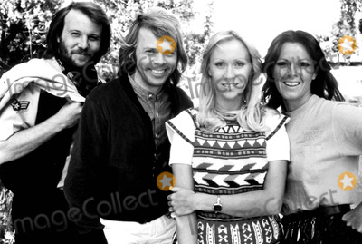 Anni Frid Lyngstad Photo - Benny Anderson Bjorn Ulvaeus Agnetha Faltskog and Anni-frid Lyngstad of Abba 1978 SmpGlobe Photos Inc