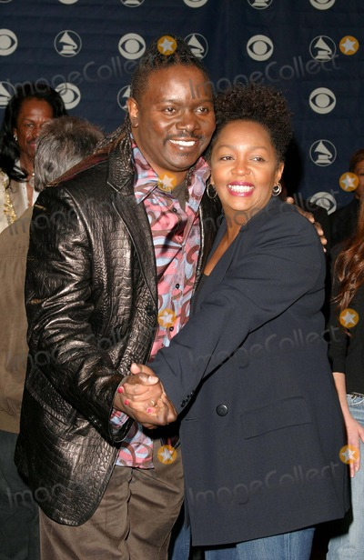 Anita Baker Photo - 47th Annual Grammy Award Nominations at the Henry Fonda Music Box Theatre in Hollywood California 12-07-2004 Photo by Kathryn IndiekGlobe Photos Inc 2004 Philip Bailey of Earth Wind and Fire and Anita Baker