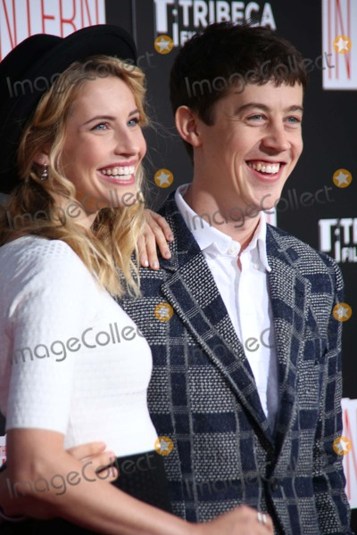 Alex Sharp Photo - Wallis Currie Wood and Alex Sharp Attend the New York Premiere of the Intern the Ziegfield Theater NYC September 21 2015 Photos by Sonia Moskowitz Globe Photos Inc