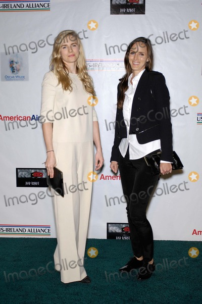 Brit Marling Photo - Brit Marling and Morgan Marling During the Oscar Wilde Pre Academy Awards Event Held at Bad Robot Studio on February 23 2012 in Santa Monica California Photo Michael Germana  Superstar Images - Globe Photos