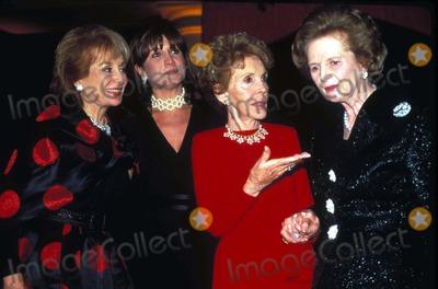 Patti Davis Photo - Margaret Thatcher 70th Birthday Gala Barbara Walters Patti Davis Nancy Reagan Photo by James KellyGlobe Photos Nancyreaganretro Margaretthatcherretro