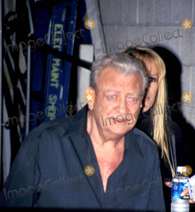 Rodney Dangerfield Photo - Rodney Dangerfield Leaving Live with Regis and Kelly in New York City 62004 Photo Byrick MacklerrangefindersGlobe Photos Inc