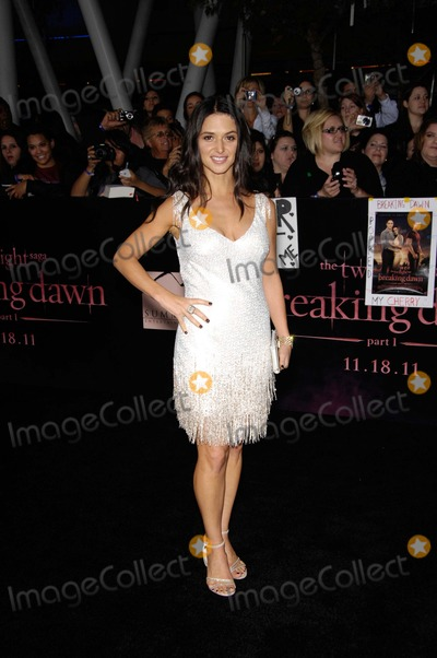 Andrea Gabriel Photo - Andrea Gabriel During the Premiere of the New Movie From Summit Entertainment the Twilight Saga Breaking Dawn Part 1 Held at the Nokia Theatre at LA Live on November 14 2011 in Los Angeles Photo Michael Germana - Globe Photos Inc