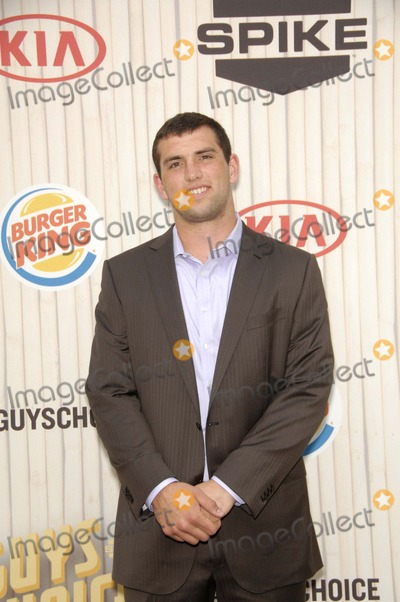 Andrew Luck Photo - Andrew Luck During Spike Tvs Guys Choice 2013 Held at Sony Picture Studios on June 8 2013 in Culver City California Photo Michael Germana  Superstar Images - Globe Photos