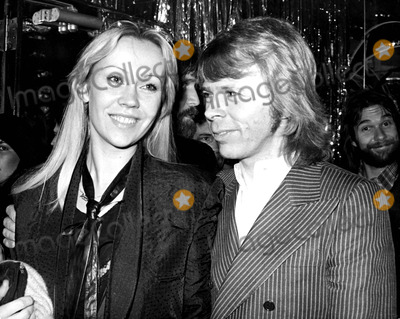 ABBA Photo - Agnetha Faltskog and Bjorn Ulvaeus of Abba 11979 Art ZelinGlobe Photos Inc