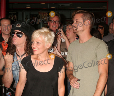 Don Bolles Photo - the Germs Inducted Into Hollywoods Rockwalk 7425 Sunset Blvd Hollywood CA 082008 the Germs - L-r - Don Bolles and Lorna Doom with Shane West Photo Clinton H Wallace-photomundo-Globe Photos Inc