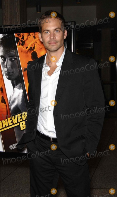 Paul Walker Photo - Paul Walker During the Premiere of the New Movie From Summit Entertainment Never Back Down Held at the Cinerama Dome on March 4 2008 in Los Angeles Photo by Michael Germana-Globe Photos 2008