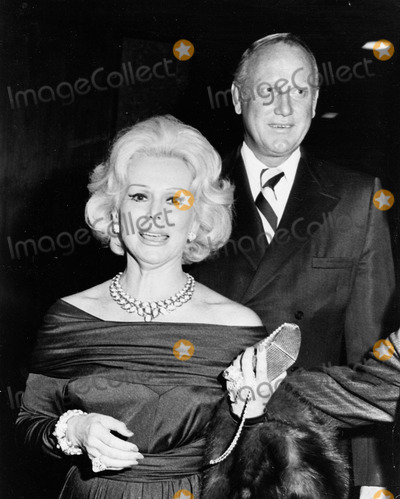 Eva Gabor Photo - Eva Gabor with Frank Jamison at the Opening of Deborah Kerr Play at Schubert Theatre in Century City Supplied by Globe Photos Inc
