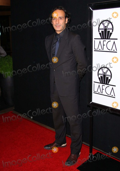 Alexandre Desplat Photo - January - 2011 Los Angeles - Alexandre Desplat the 38th Annual Los Angeles Film Critics Association Awards Held at the Intercontinental Hotel photo Tleopoldglobephotos